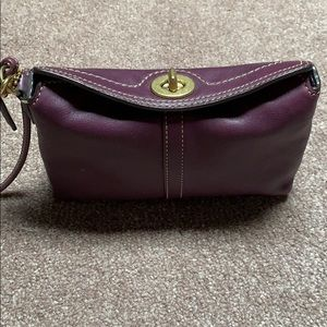Used Coach Clutch- Perf for Fall!